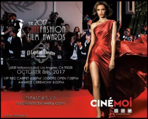 The 2017 CineFashion Film Awards @ The El Capitan Theater | Los Angeles | California | United States