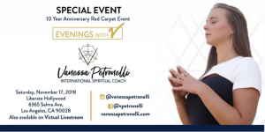Evenings with V - A Celebration of Spiritual Guidance with Vanessa Petronelli @ Liberate